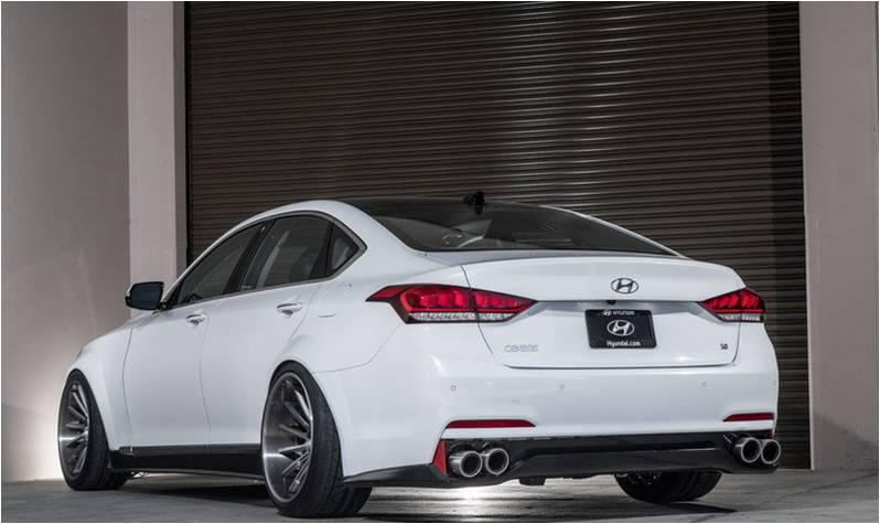 genesis test sedan review hyundai drive first impressions