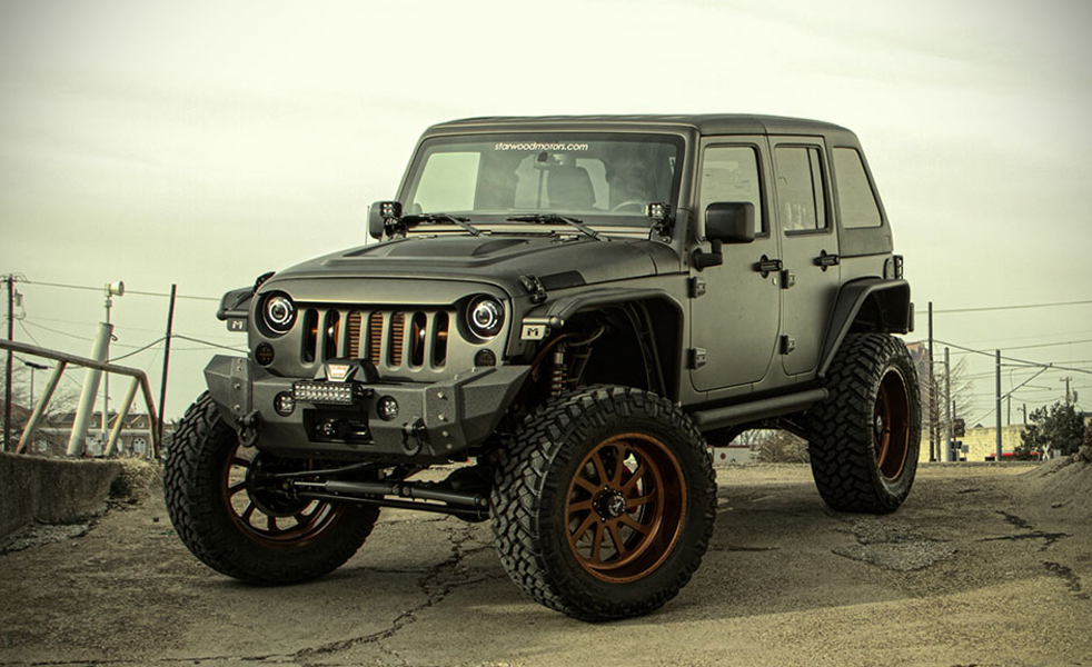 2014 Jeep Wrangler Unlimited Nighthawk: A Jeep for the Heavy Duty Driver