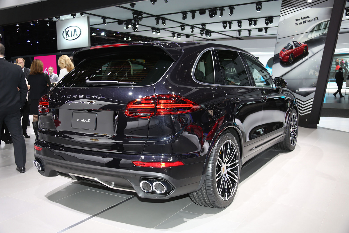German 2016 Porsche Cayenne Turbo S Is The Suv That