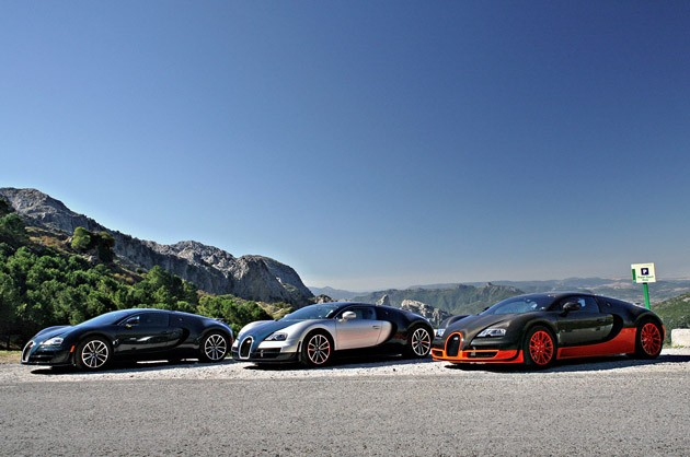 Bugatti Veyron Super Sport 2011 edition on