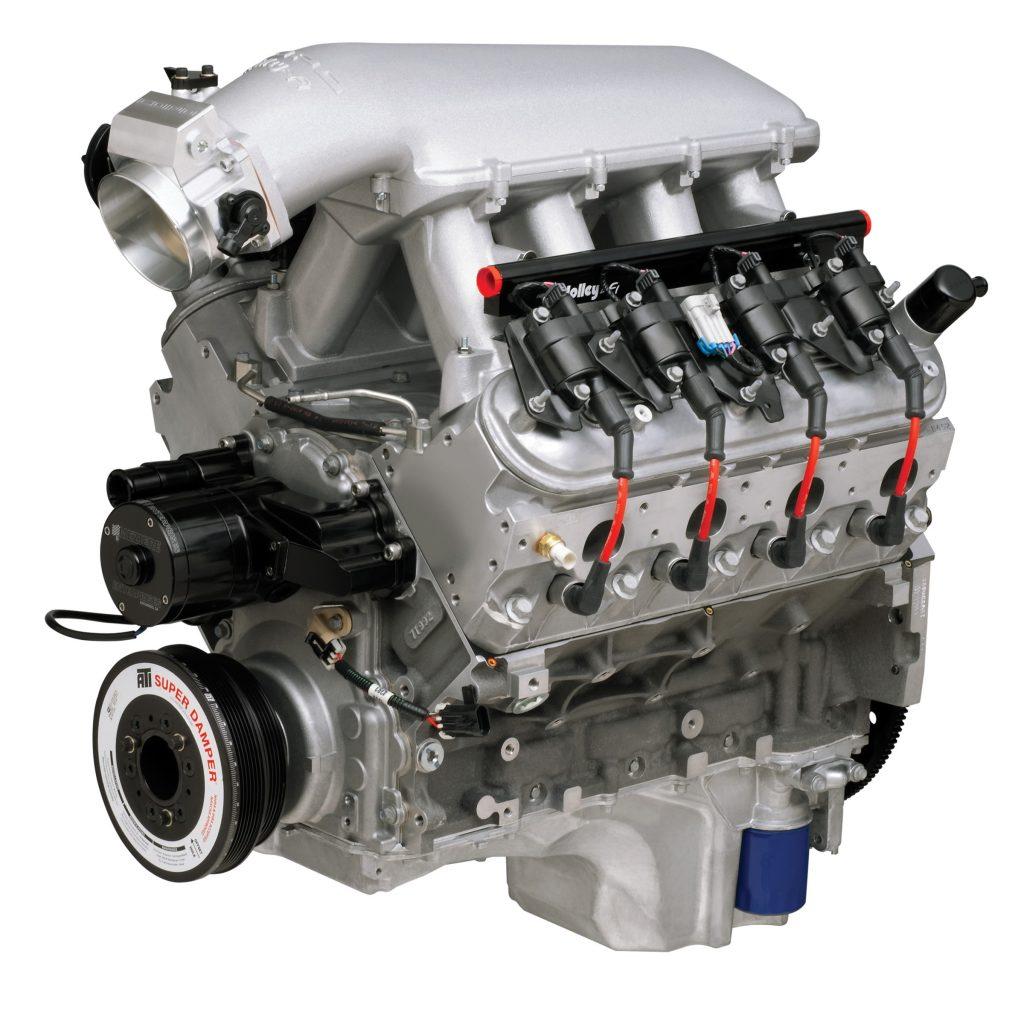 Camaro Engine - Camaro History
