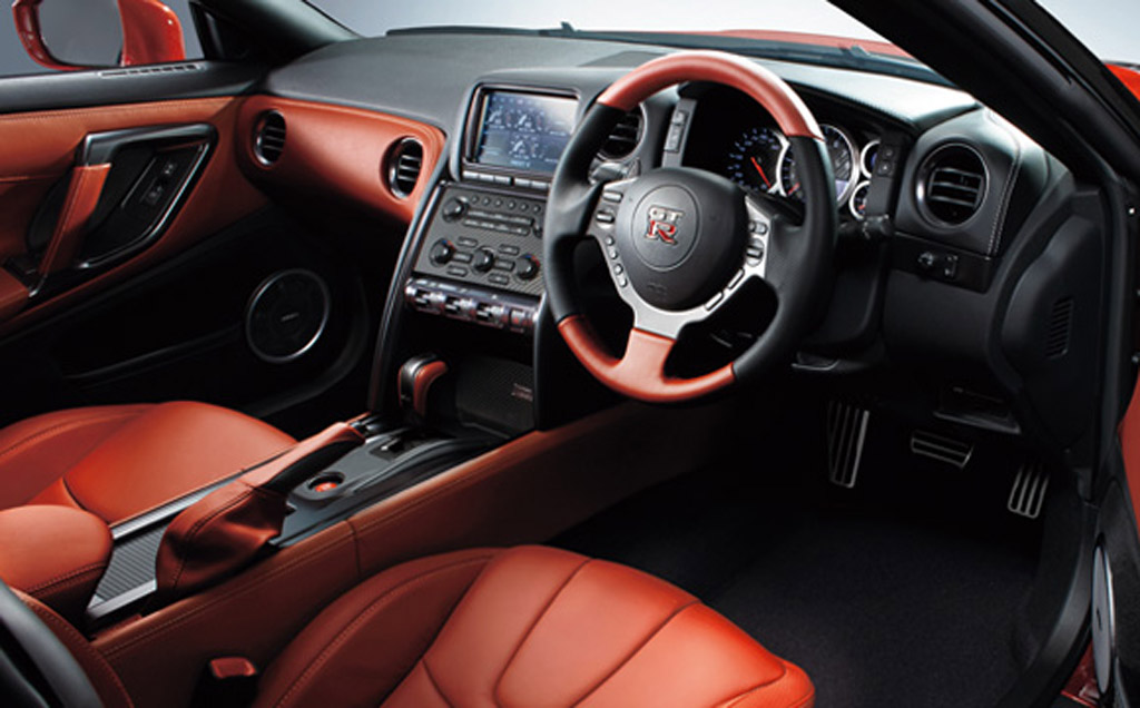 2015 Nissan GT R 45th Anniversary Edition (Japanese Spec) Interior