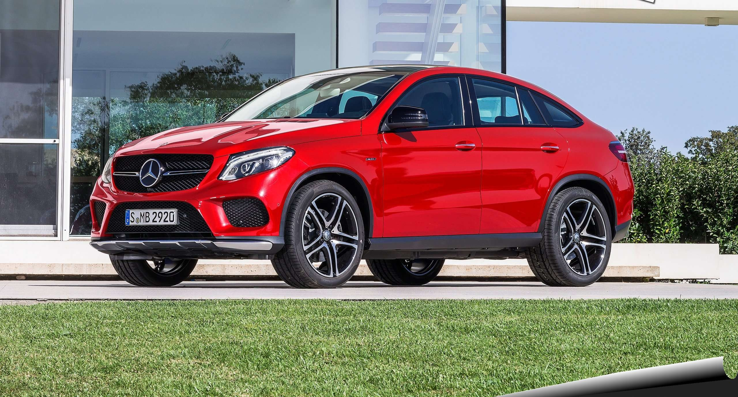 Mercedes benz redefines the coup with the 2016 gle 450 for Mercedes benz coupe suv