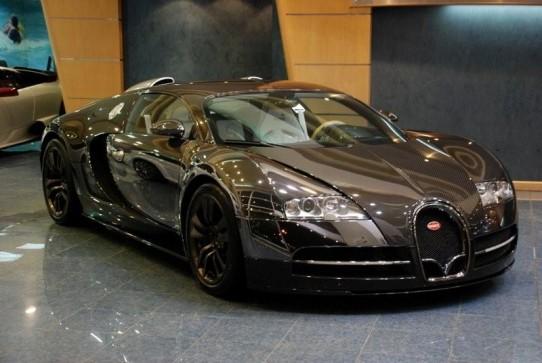 The new Bugatti 2012