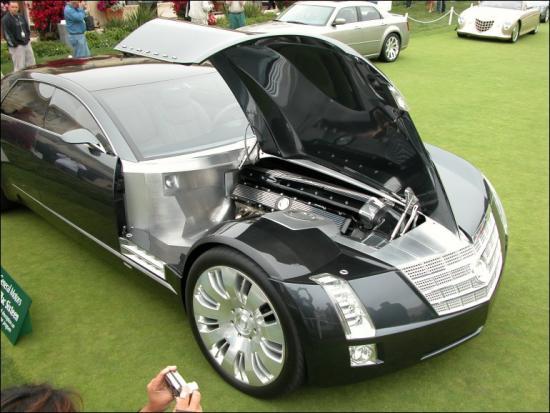 Cadillac Sixteen Hood