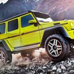 Mercedes G500 4×4² Is All You'll Ever Need from an Offroader