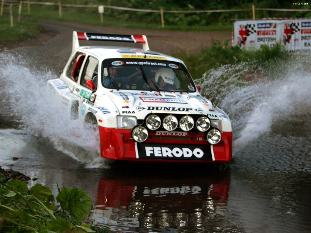 The MG Metro is one of the most famous rally cars in the circuit