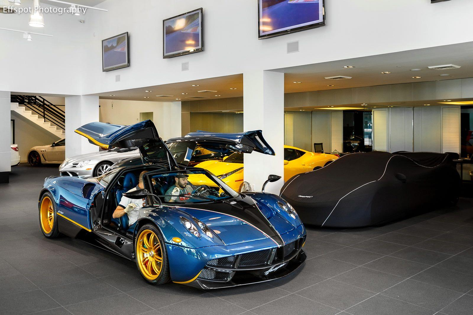 One Off Pagani Huayra 730 S Reached The States And It Shines There