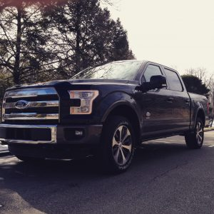 The 2015 Ford F-150 drops weight by nearly 700 pounds by using aluminum alloy materials in the doors and framing.