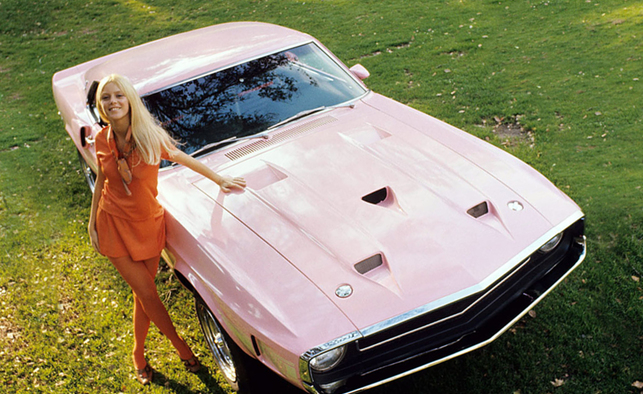 1969 Playmate Connie Kreski With Shelby GT500