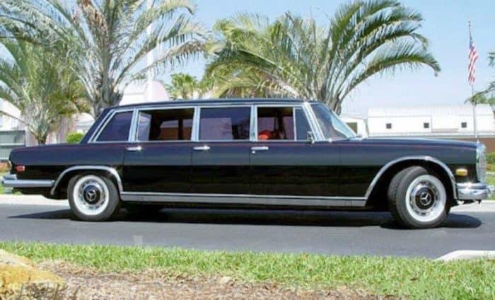 1969 Mercedes Benz 600 Pullman Limousine Driving