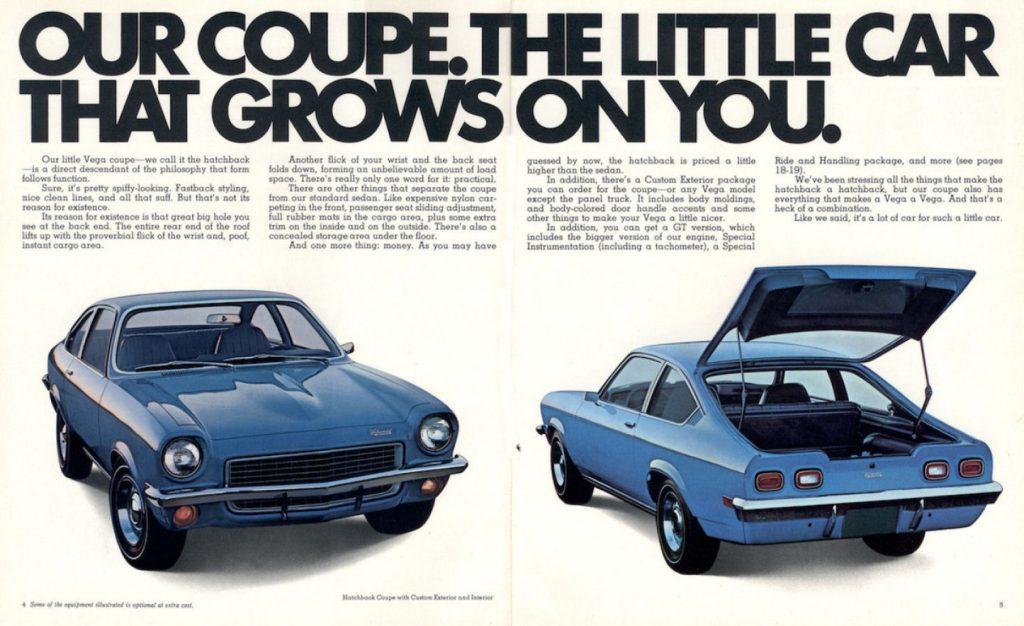 1971 - 1977 Chevrolet Vega