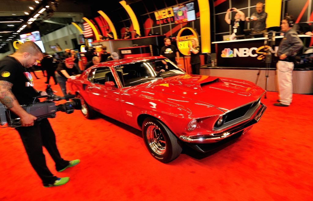 Boss 429 at Mecum