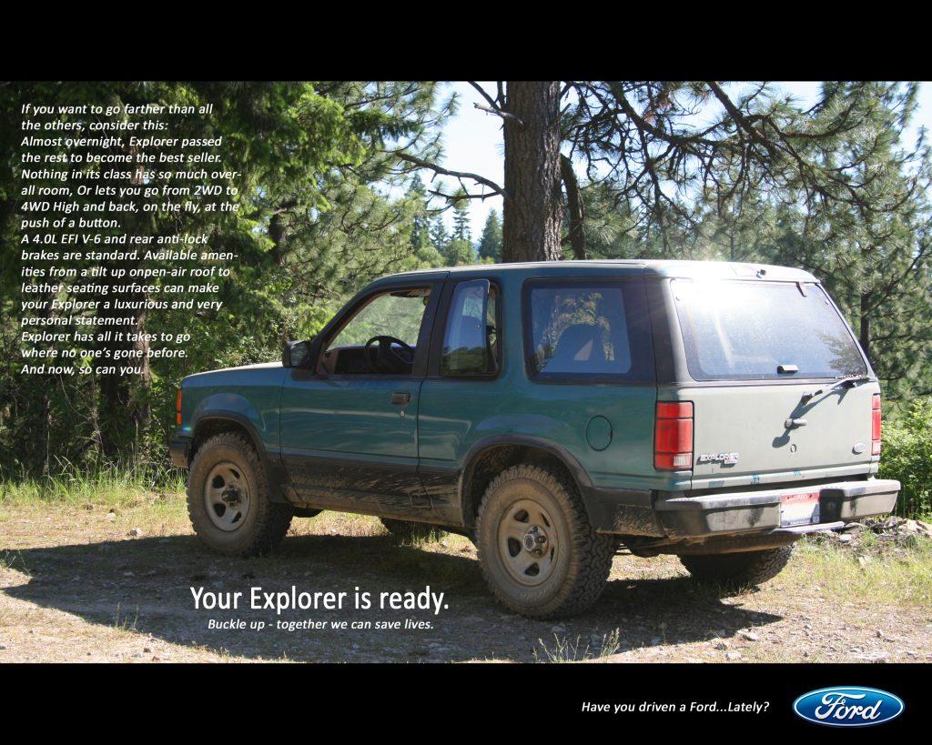 1991 - 2000 Ford Explorer