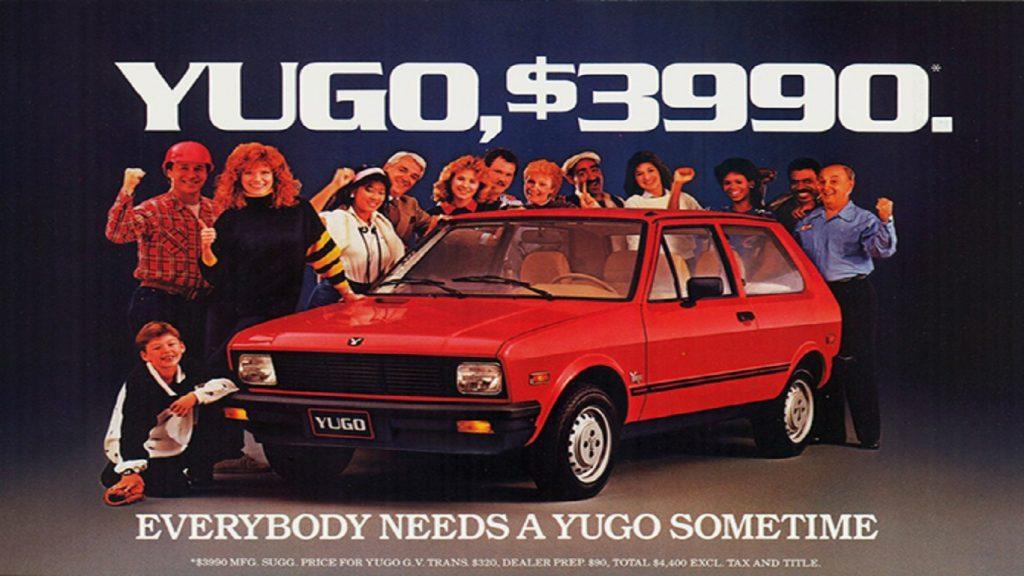 1985-1992 Yugo