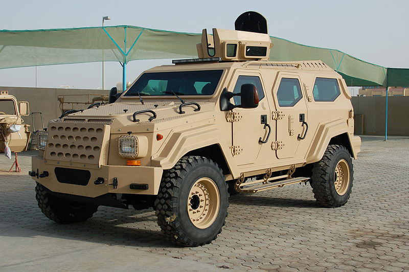 Gurkha RPV Tactical Armored Vehicle