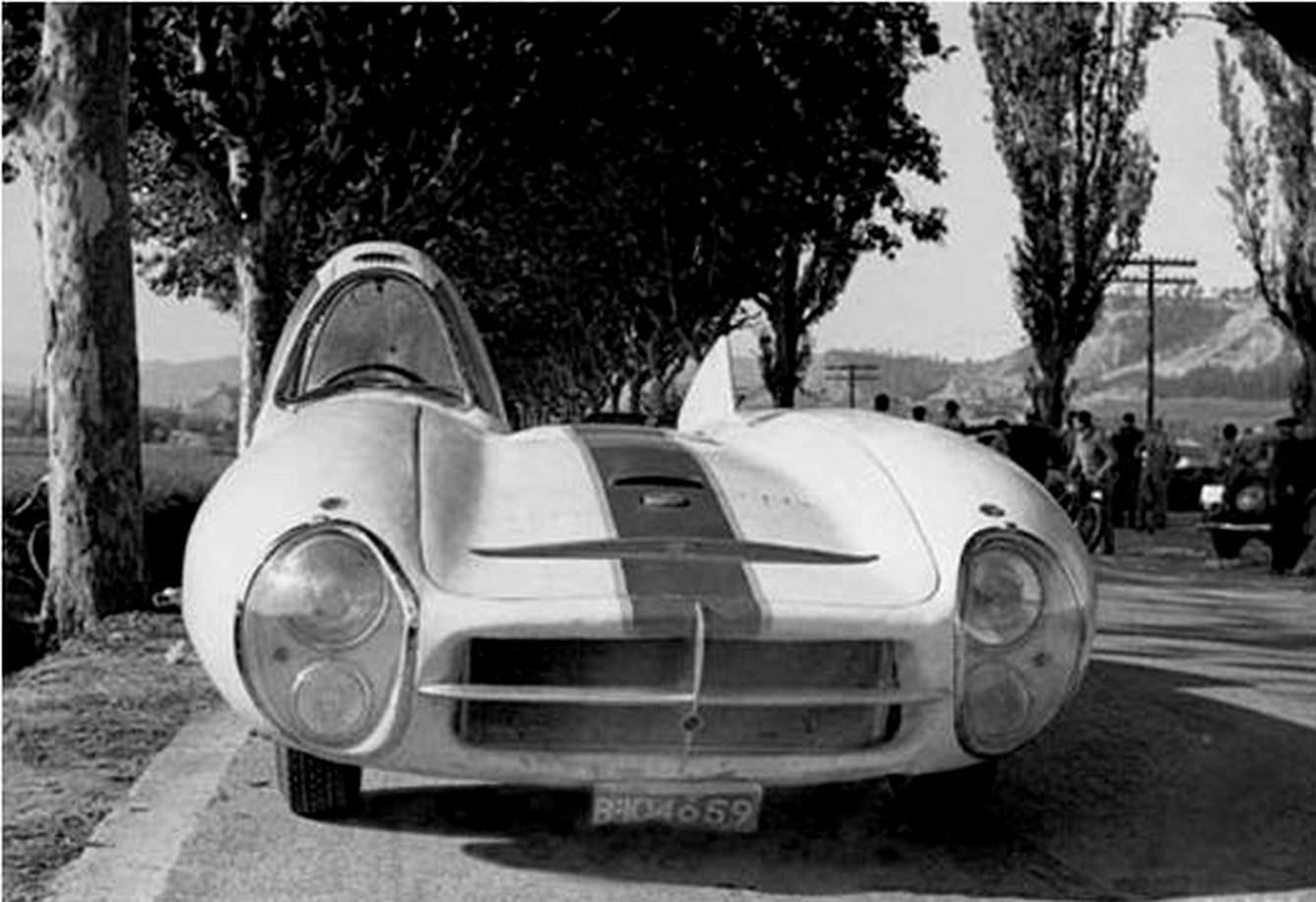 Pegaso Bisiluro Race Car