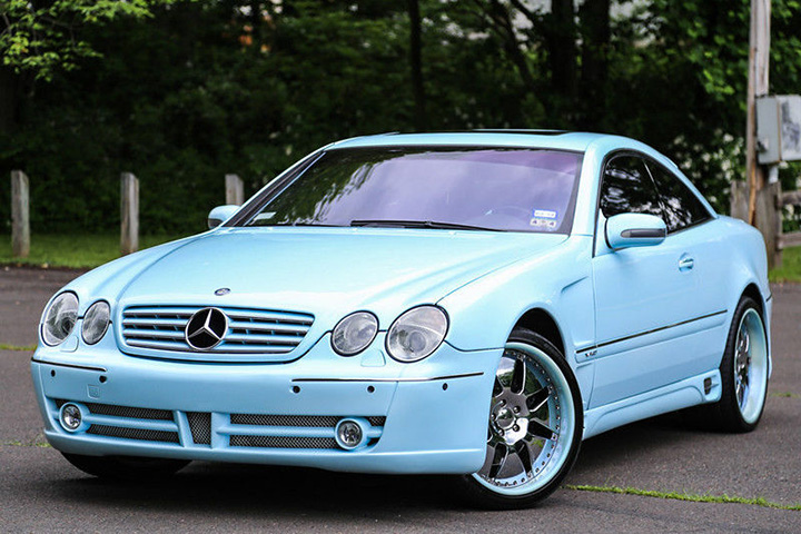 TRACY McGRADY's MERCEDES-BENZ CL600