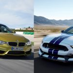 Epic Battle: 2015 BMW M4 vs. 2016 Mustang GT350