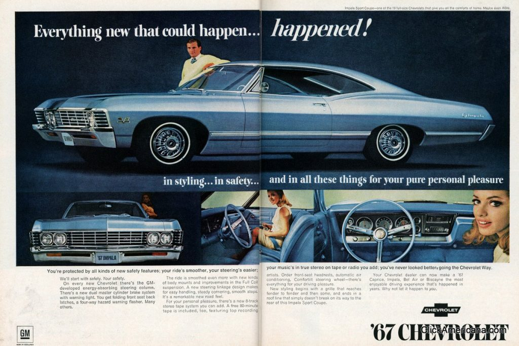 1965 - 1969 Chevrolet V-8
