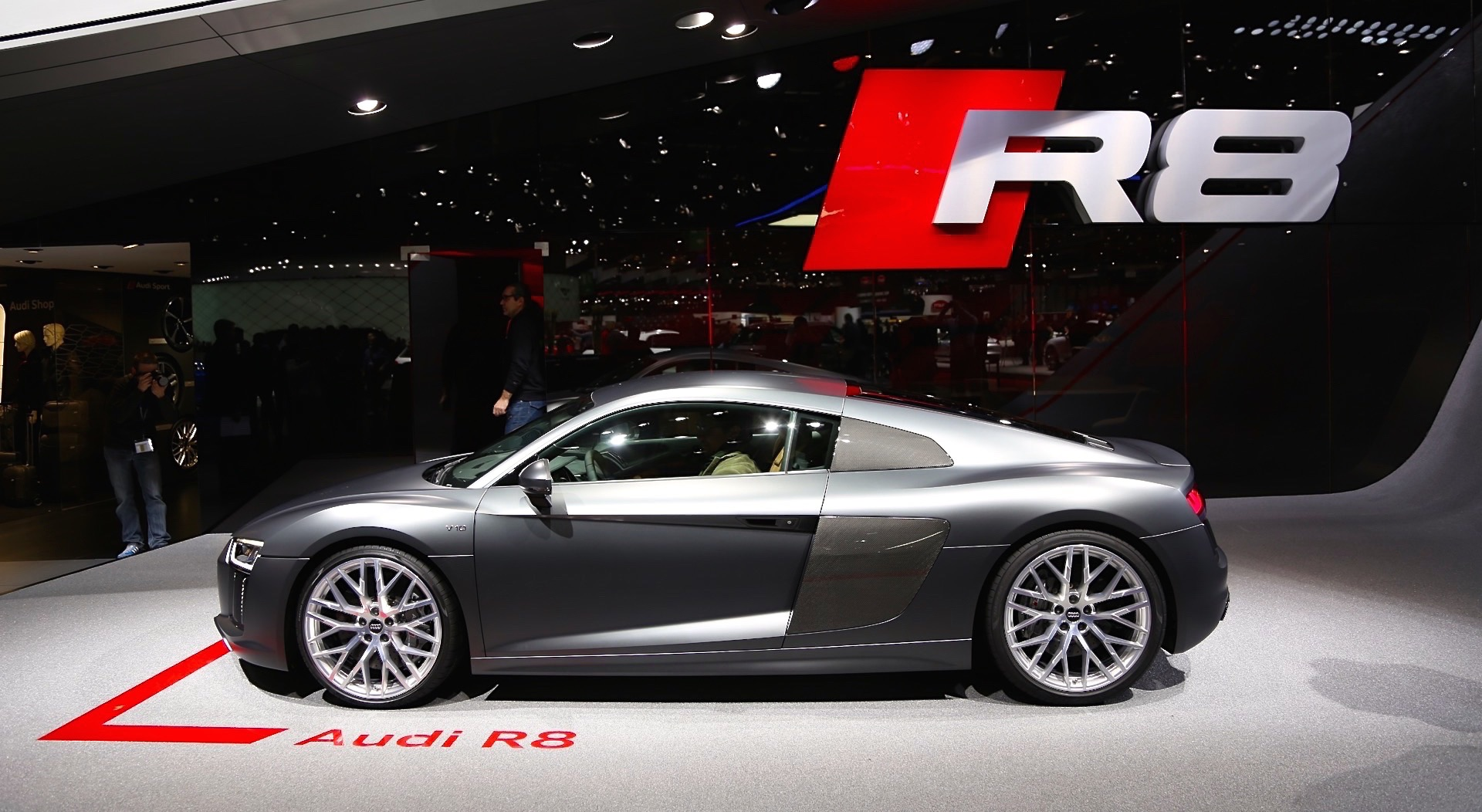 Audi R8, The Most Powerful, Fastest Production Audi Ever, Stuns at ...