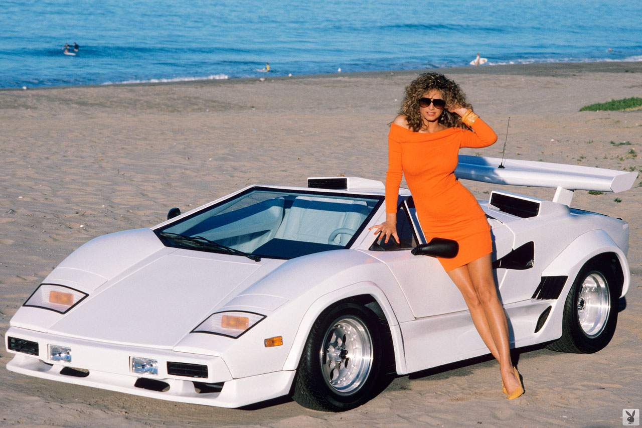 1988 Playmate India Allen Wth Exotic Dream Machines Replicar