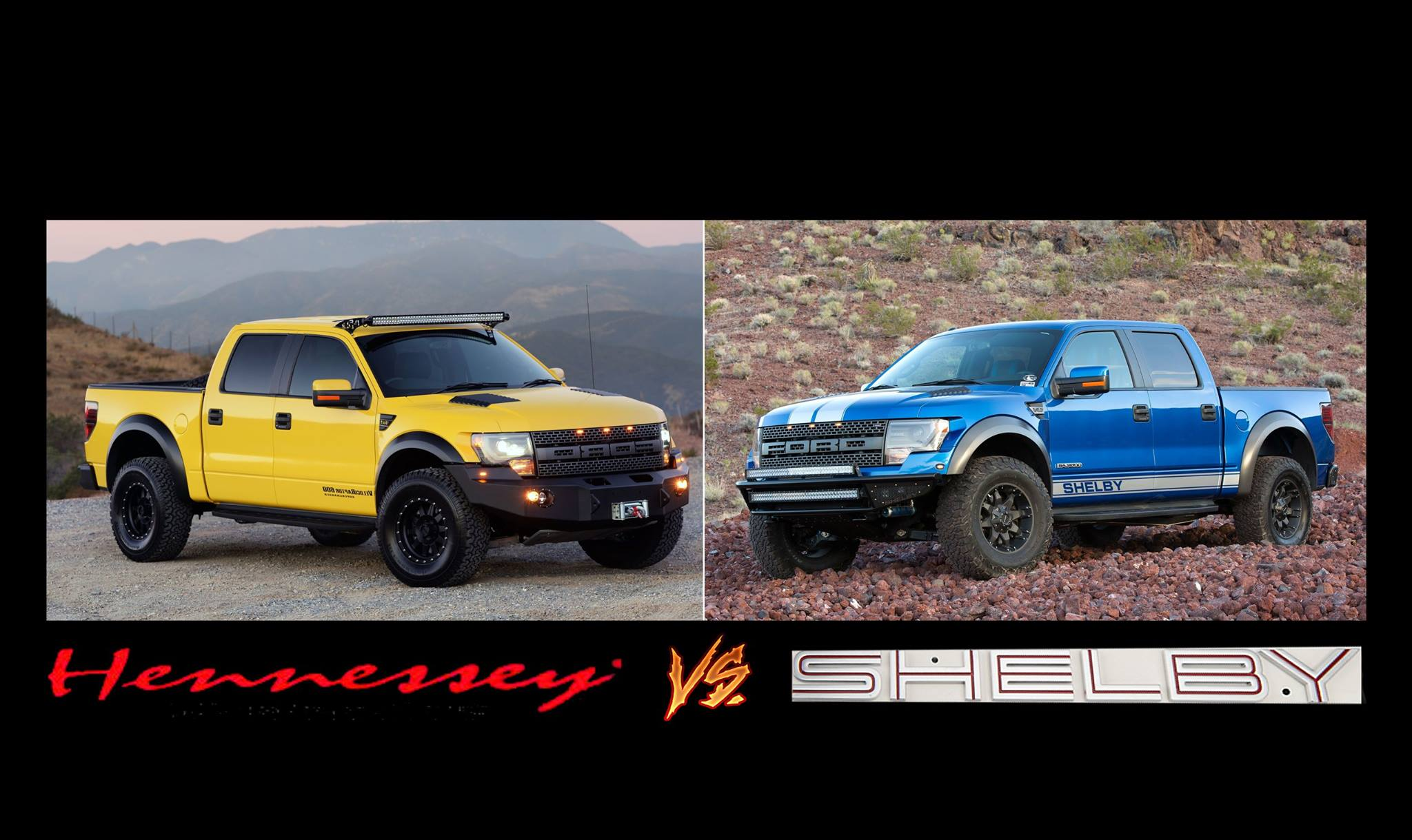 Shelby Baja 700 Vs Hennessey Velociraptor Two Different Beasts