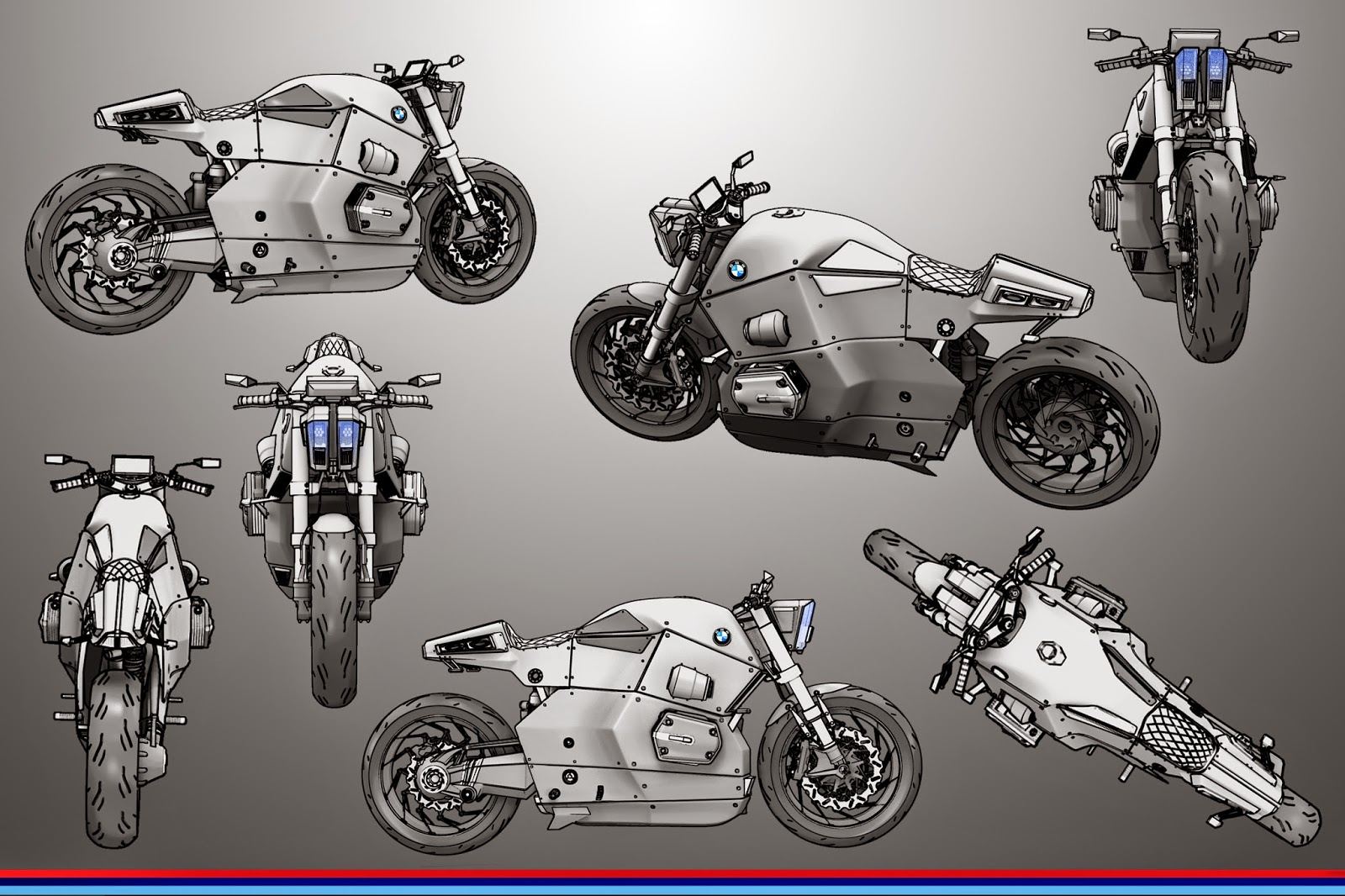 BMW Urban Racer Concept by Jans Slapins 3