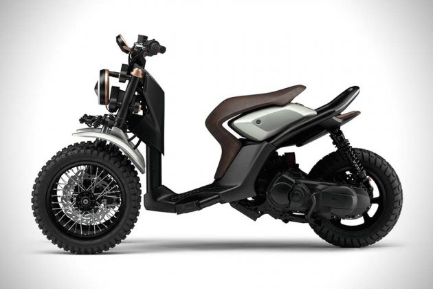 Yamaha03GEN F And 03GEN X Scooters 5