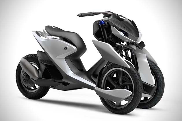 Yamaha03GEN F And 03GEN X Scooters 3