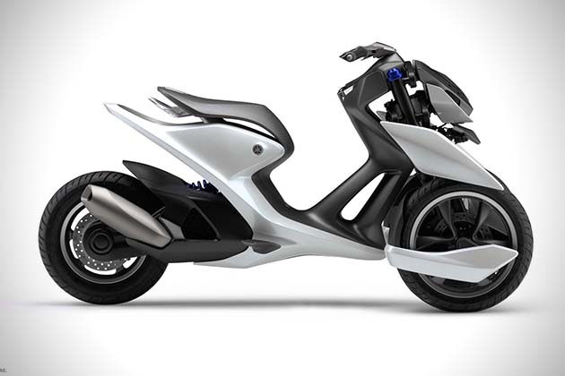 Yamaha03GEN F And 03GEN X Scooters 2