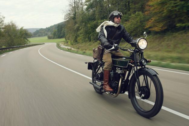 Black Douglas Motorcycles - Sterling 6