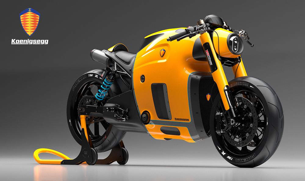Koenigsegg Bike Concept 1