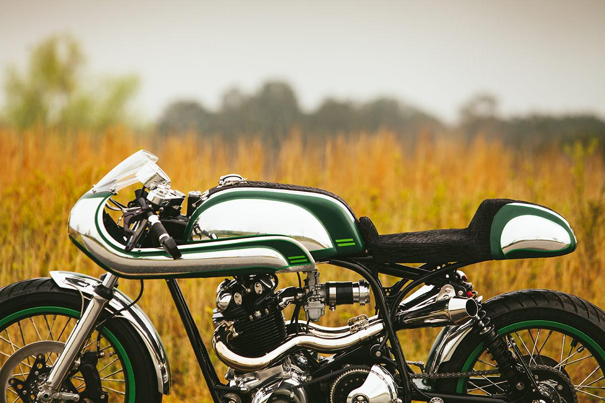 Misty Green Fuller Motos Norton Commando