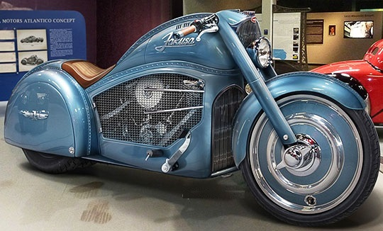 Harley Bugatti Motorcycle 5