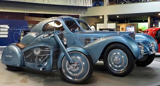 The Bugatti/Harley Concept: Fat Boy Meets 1936 57SC Atlantic