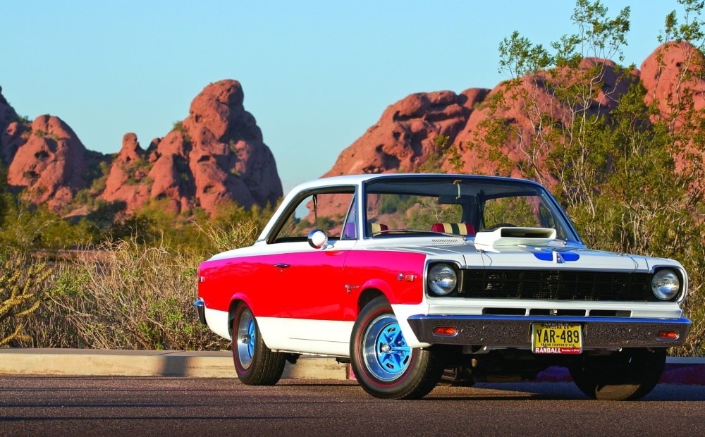 The Most Audacious Muscle Car of the 1960s: The AMC SC/Rambler
