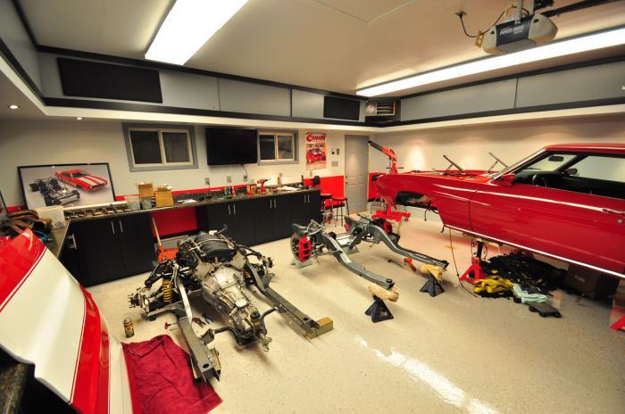 Single Car Garage Man Cave Ideas : Garage man cave decor designs