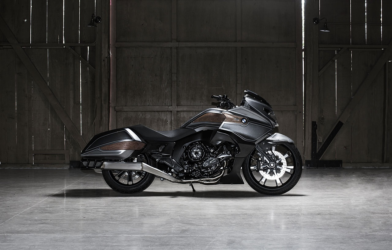 Bmw Concept 101 The K1600 Bagger
