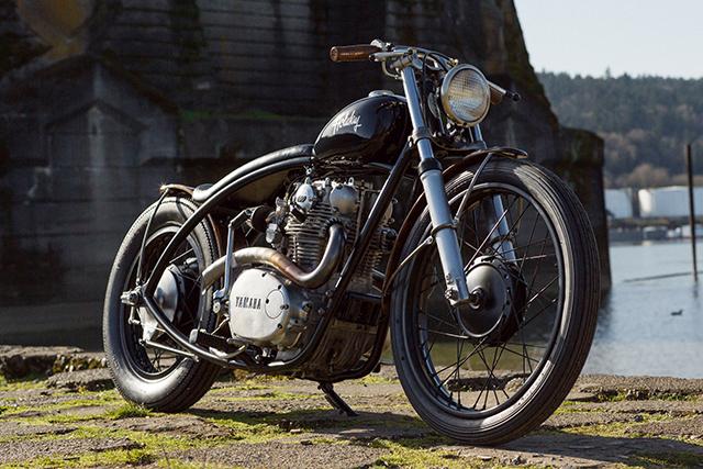 Yamaha XS650 Bobber 1