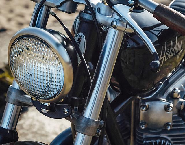 Yamaha XS650 Bobber 6