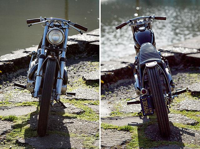 Yamaha XS650 Bobber 4