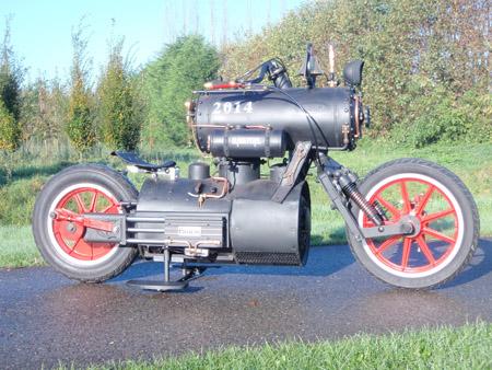 Steam Engine Motorcycle 9