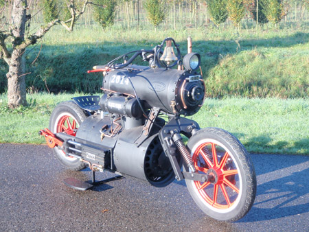 Steam Engine Motorcycle 2