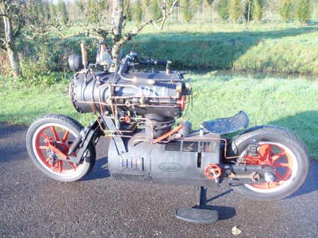 Steam Engine Motorcycle 1