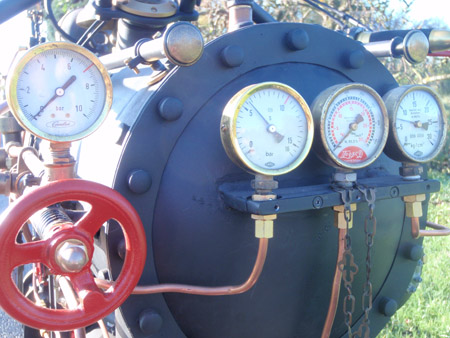Steam Engine Motorcycle 3