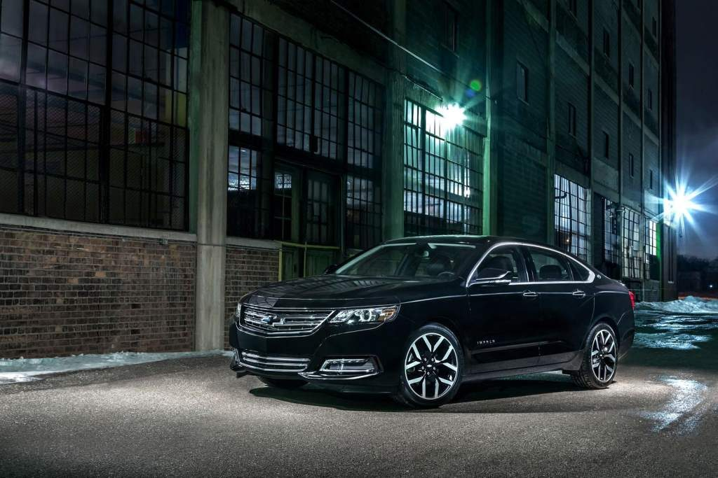 Chevy Impala Midnight Edition Front 3 4