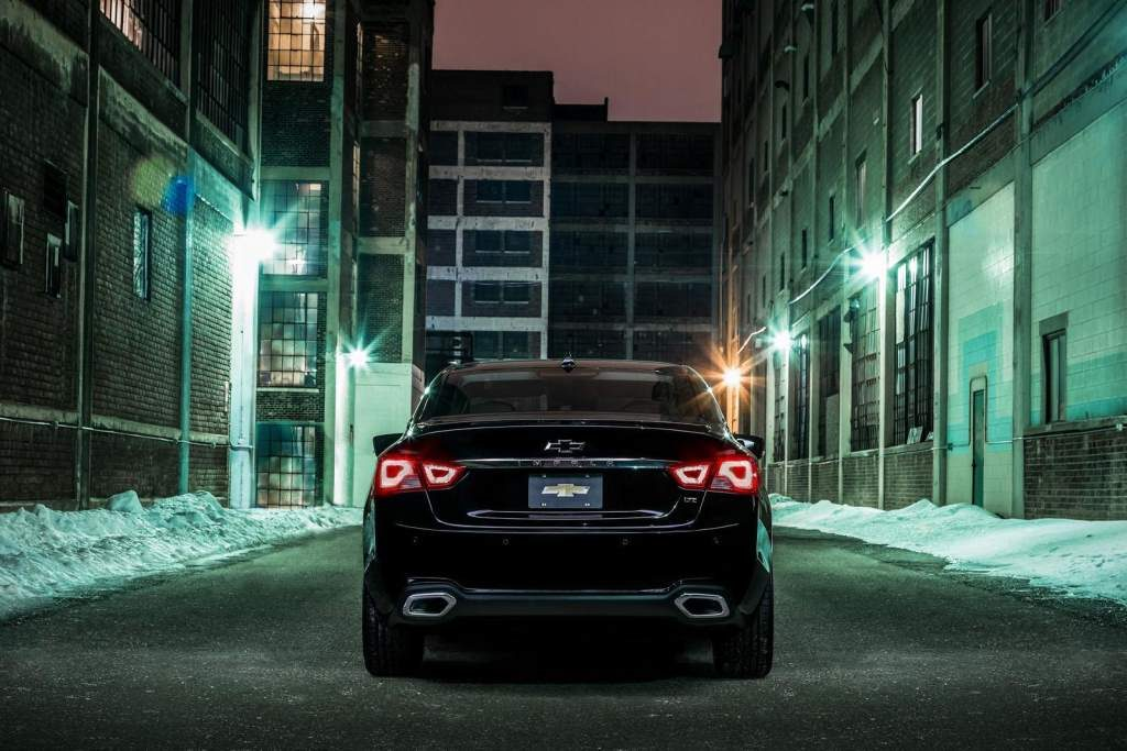 Chevrolet Impala Midnight Edition 2016 Rear View