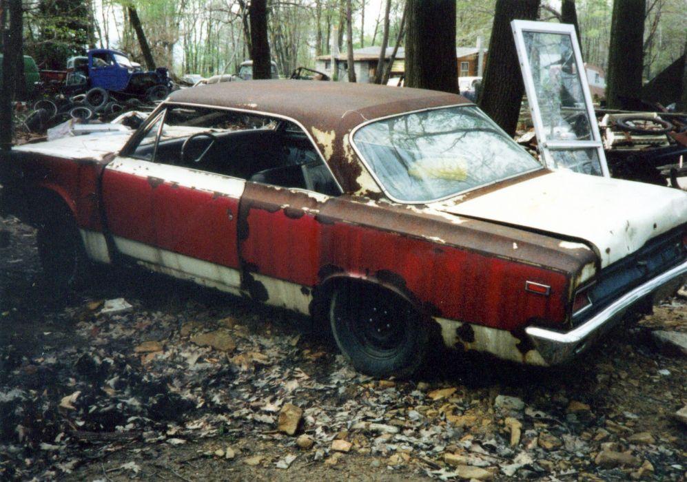 Rusty  Year Old   Mile Car