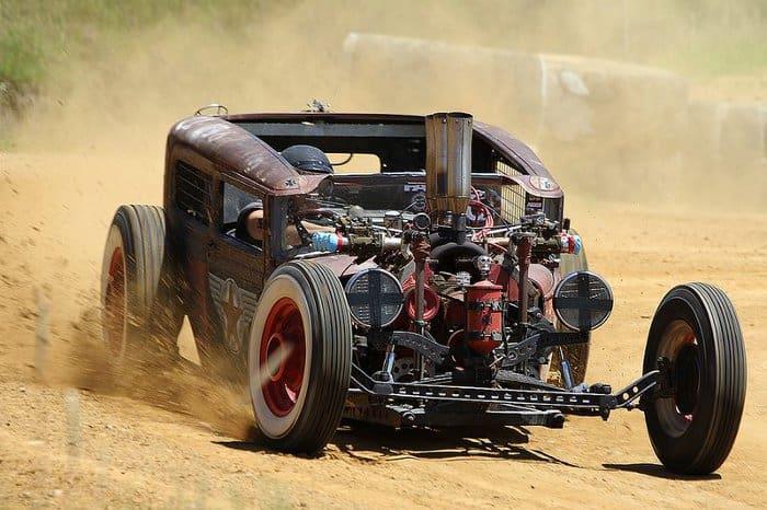 Crazy Off-Road Rat Rods are few and far between